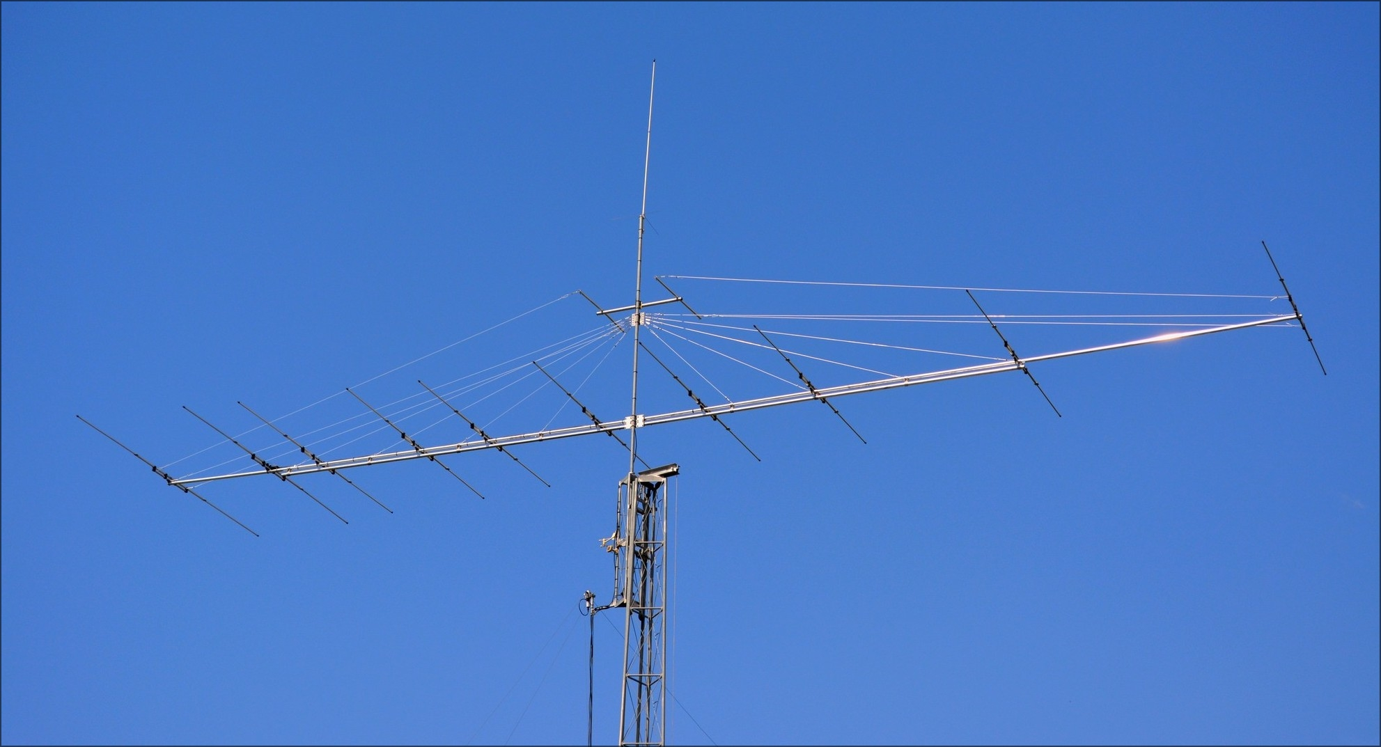 This antenna is a prototype, conception is not marketed. Optimisation and design home made